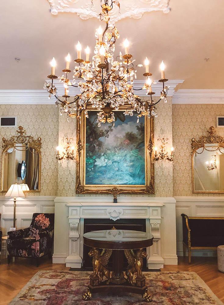 Chanler Hotel Lobby