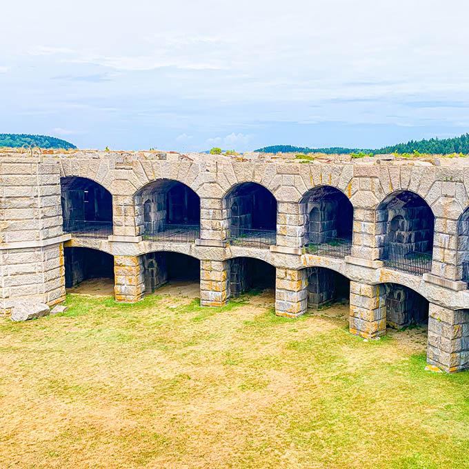 Wiscasset Fort Popham 1