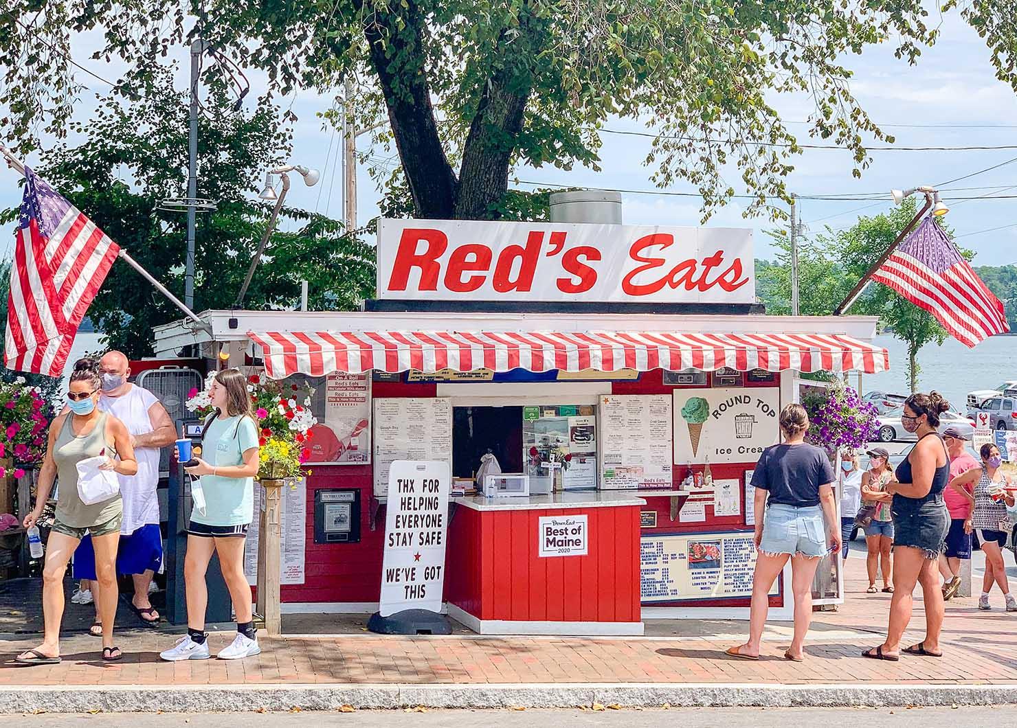 Wiscasset Reds Eats