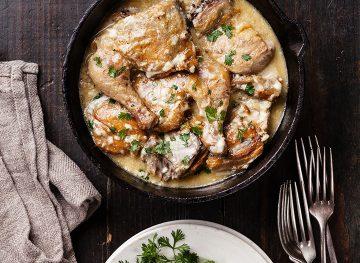 Georgian Chicken Garlic Sauce