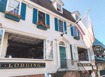 Clarke Cooke House Newport Rhode Island