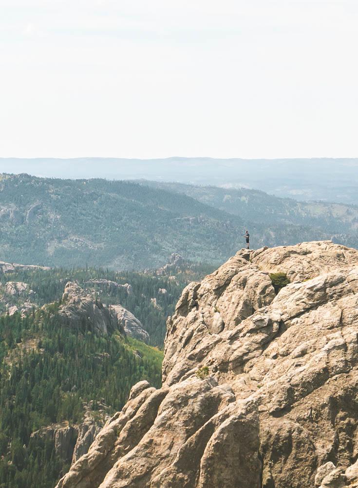 O itinerário final de uma viagem de carro de 3 dias na Dakota do Sul • The Blonde Abroad 15