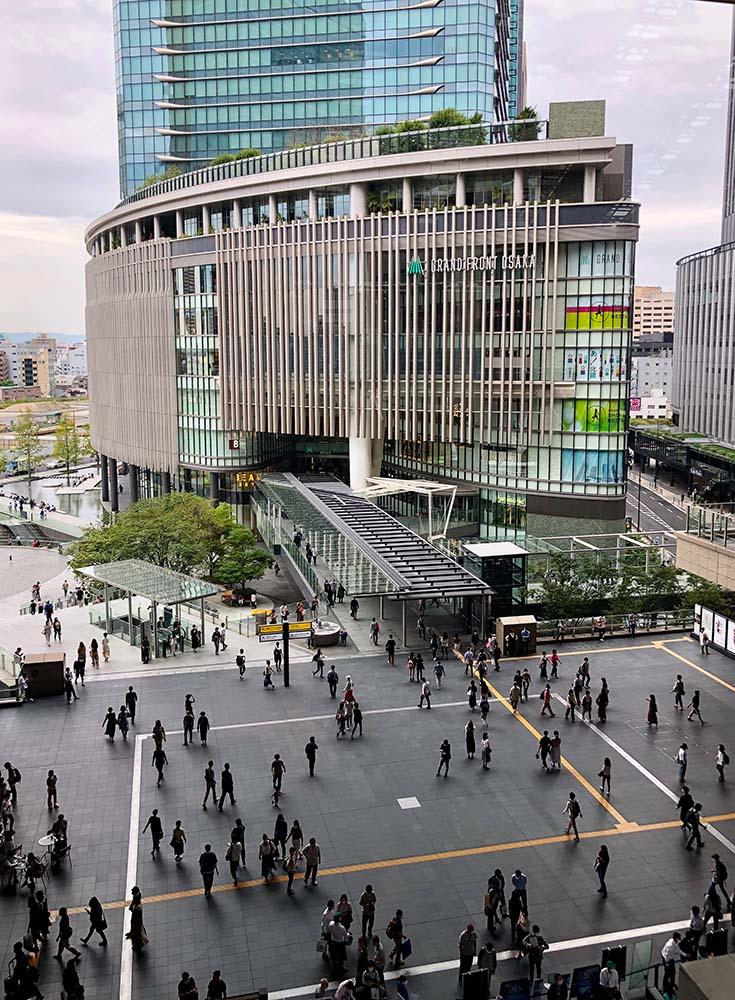 Grand Front Osaka shopping