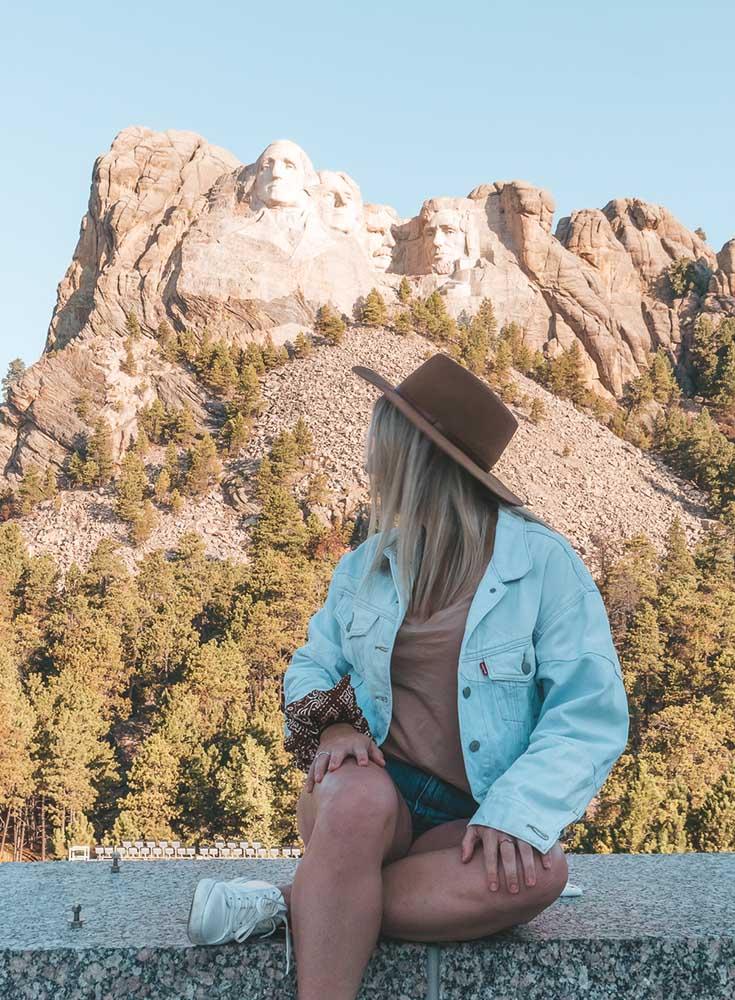 O itinerário final de uma viagem de carro de 3 dias na Dakota do Sul • The Blonde Abroad 11