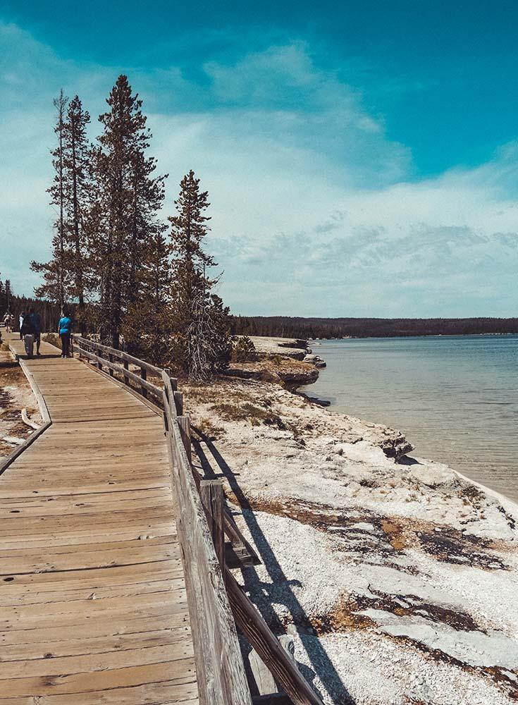 Yellowstone lake filler photo