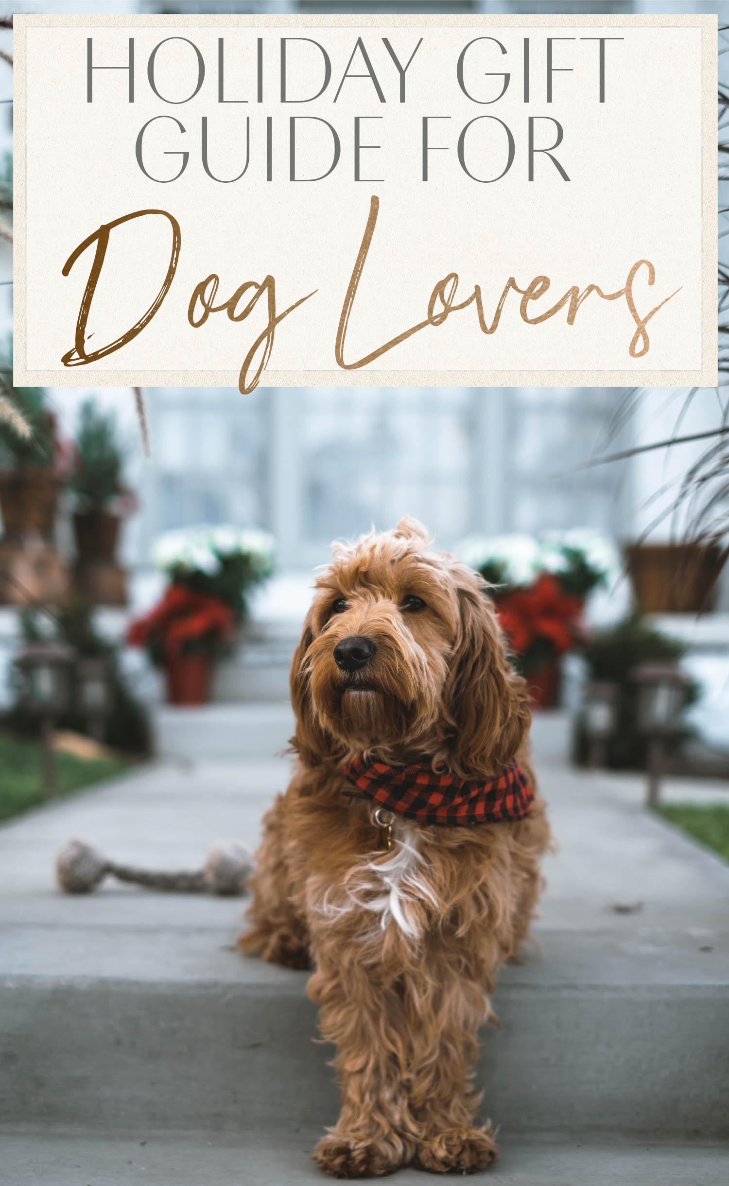 Guide cadeaux des Fêtes pour les amoureux des chiens