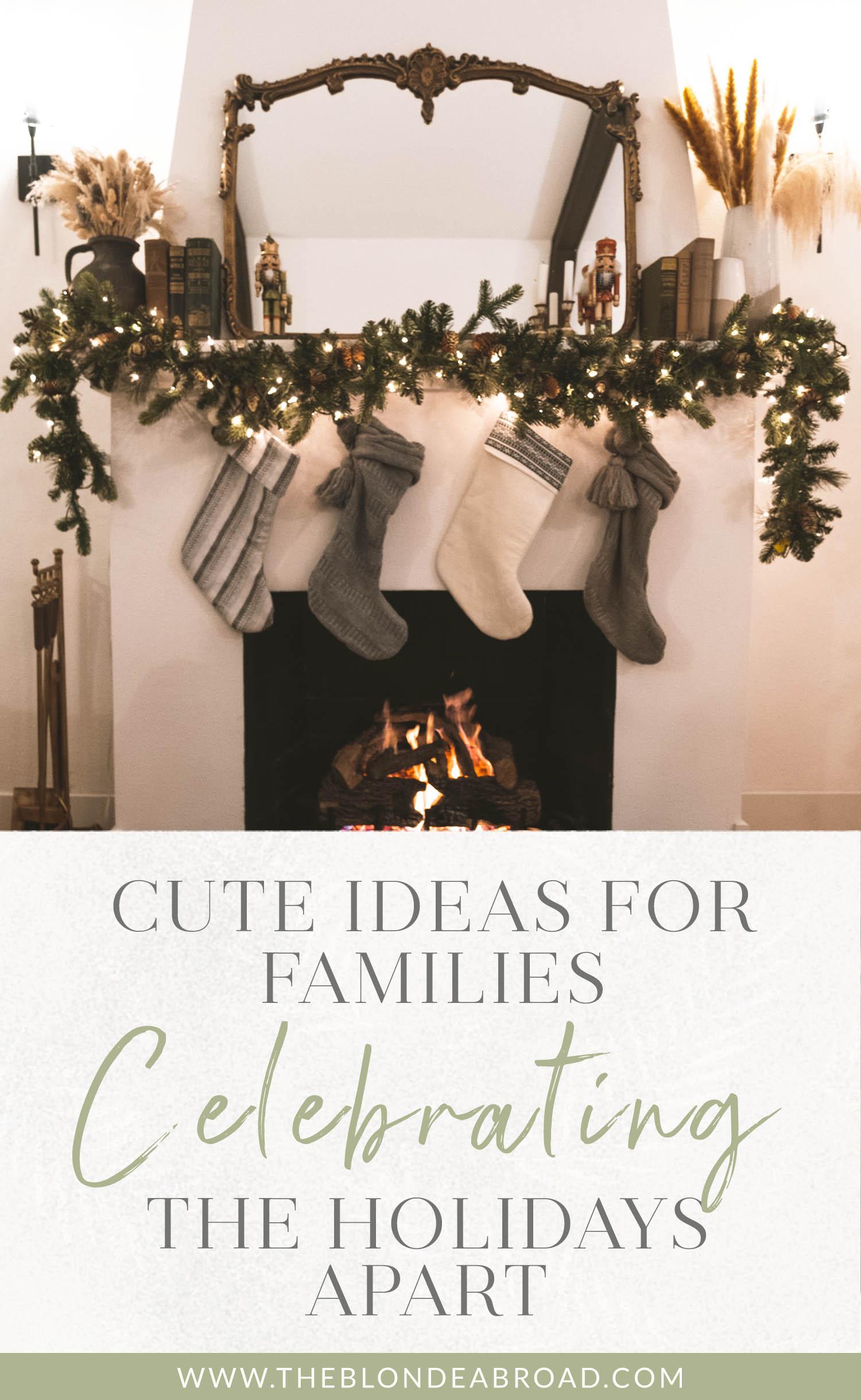 Ideias fofas para famílias que comemoram feriados separados