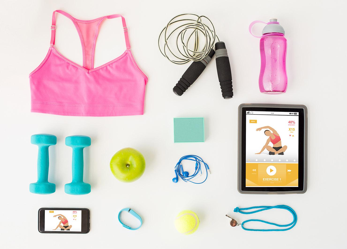 10 itens essenciais para acabar com seu plano de exercícios em casa • A loira no exterior 7