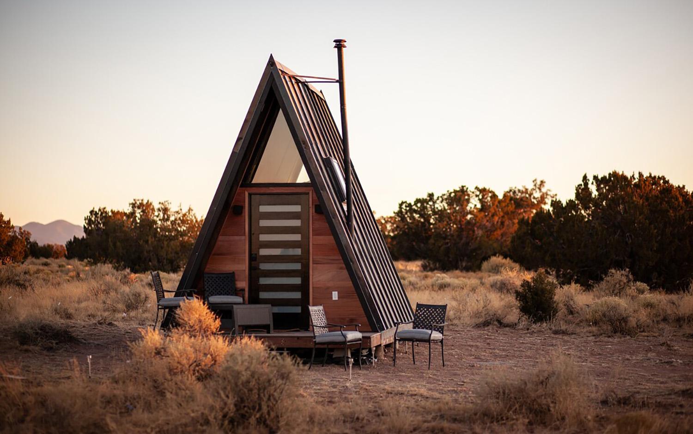 grand aframe airbnb arizona