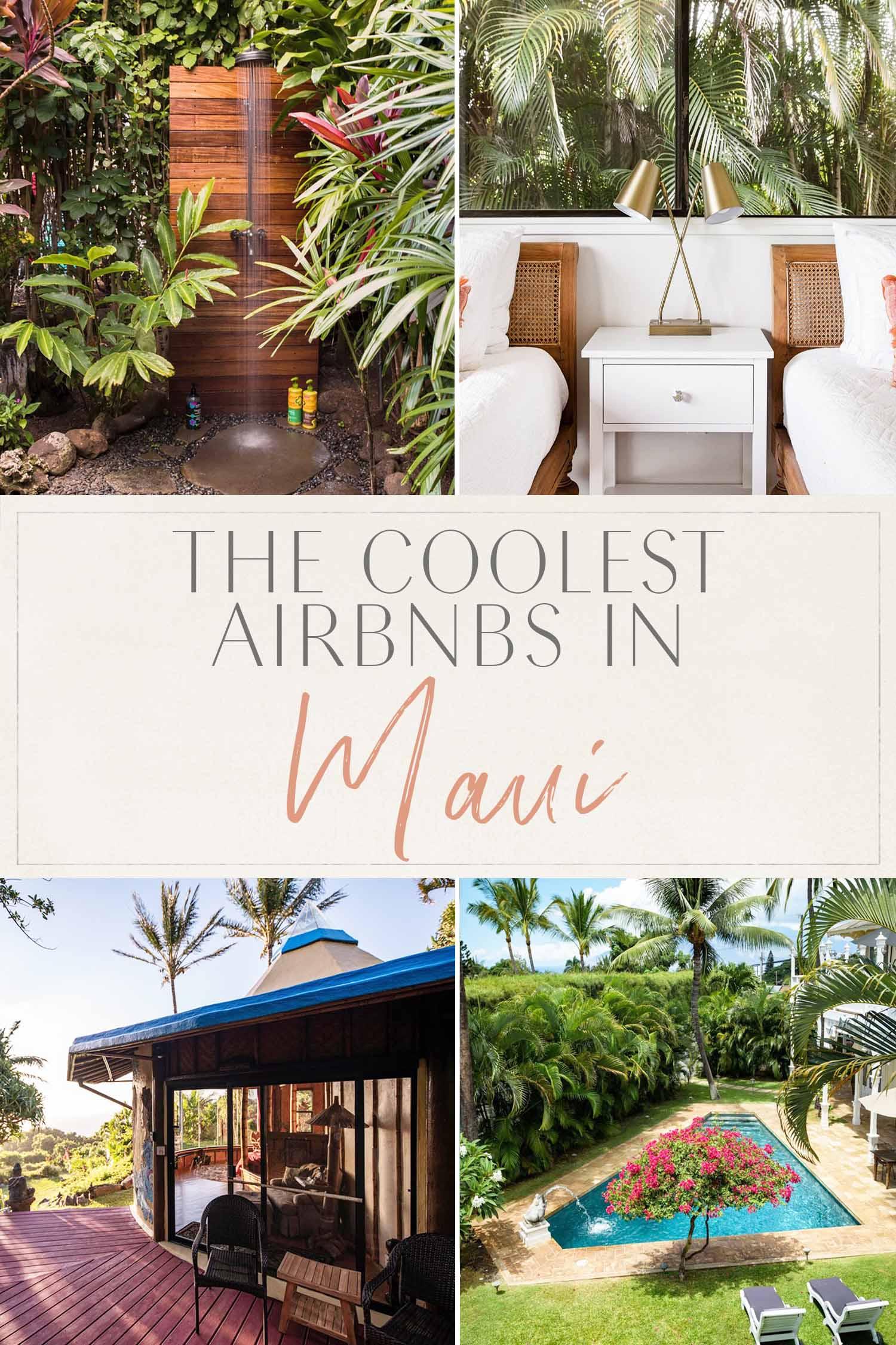 Los mejores Airbnbs en Maui