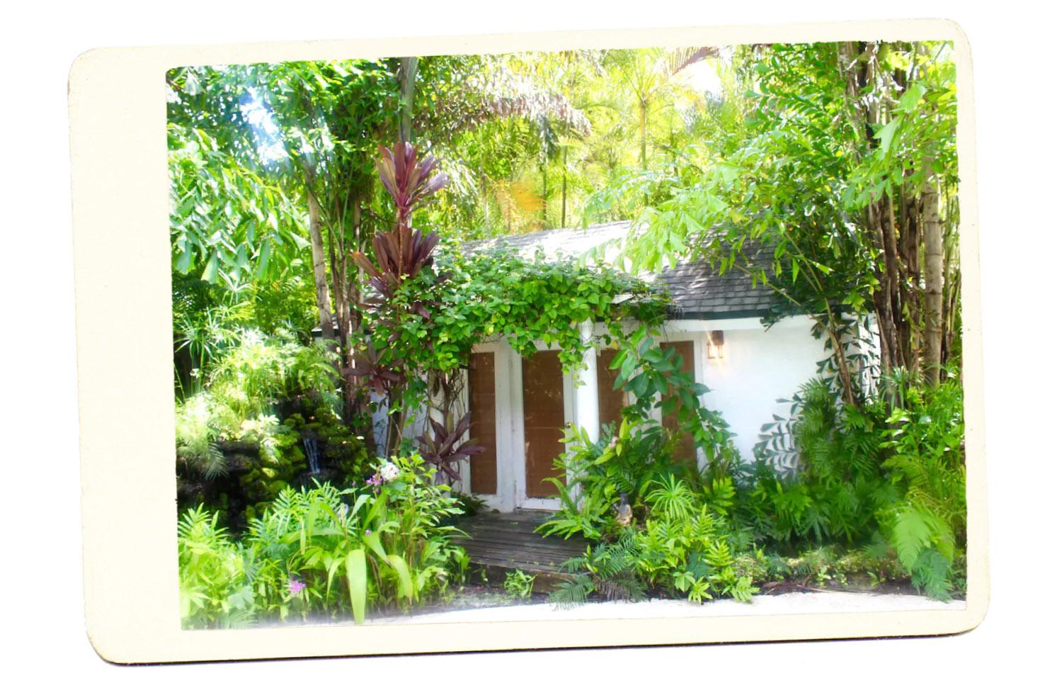 Chalé no jardim Miami Airbnb