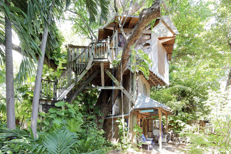 Miami Beach Farm Treehouse Airbnb