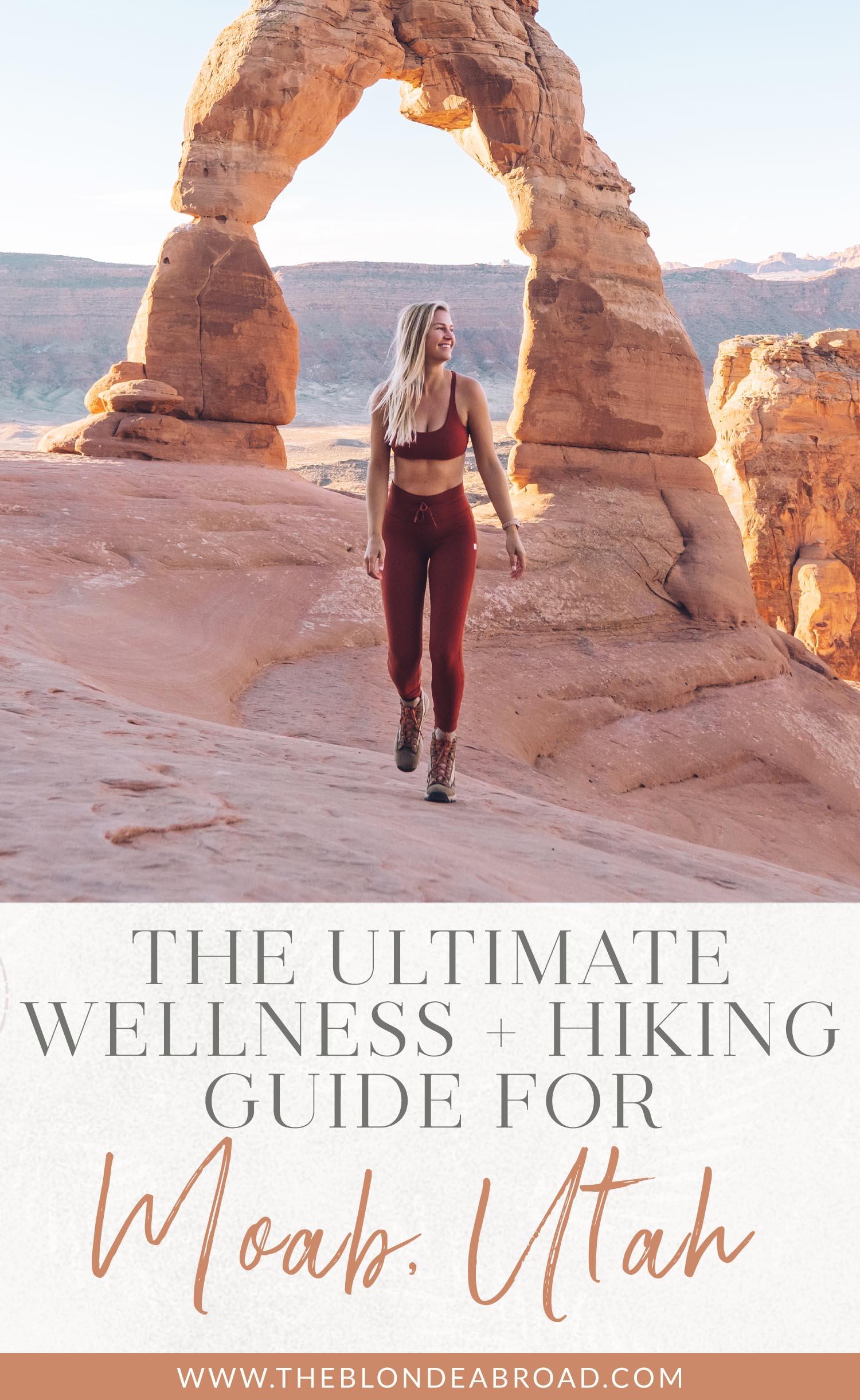 Ulimate Wellness Caminhadas Guia Moab Utah
