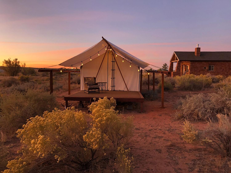 Tenda Glamping Fredonia Arizona Airbnb