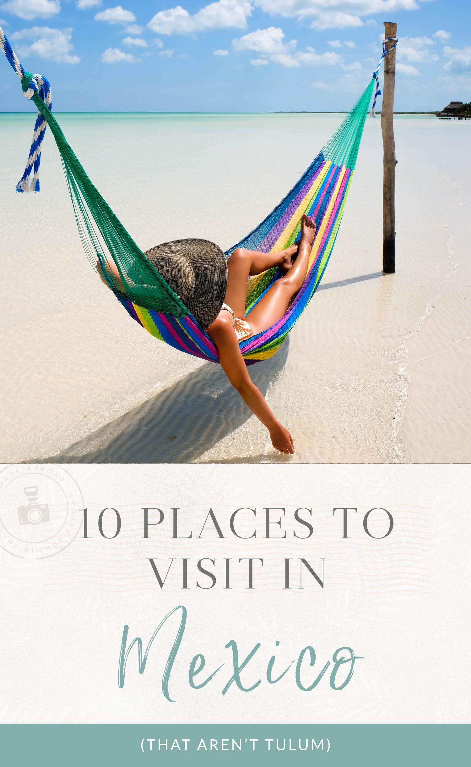 10 lugares para visitar no México