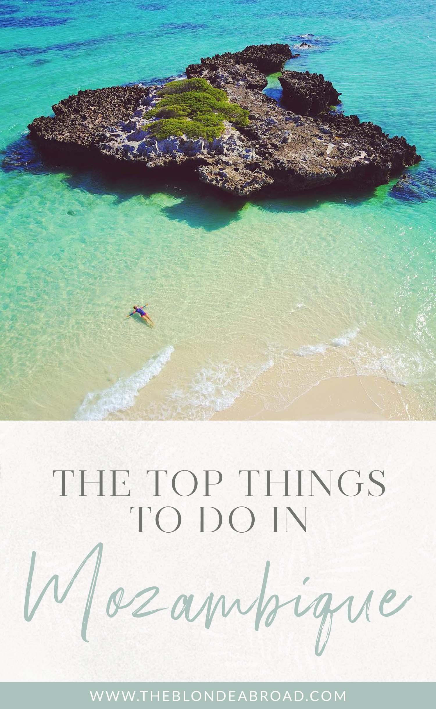 Principais coisas para fazer em Moçambique