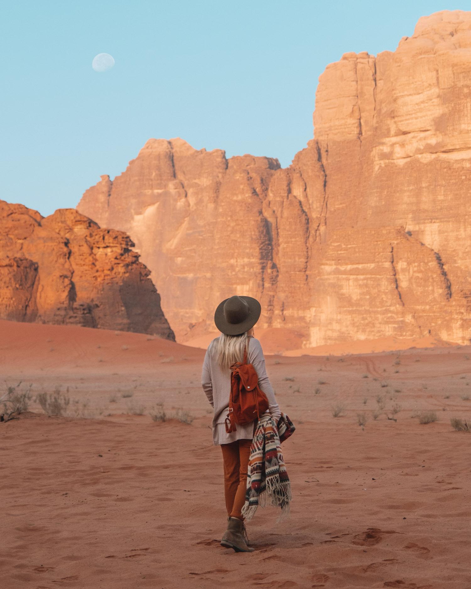 Desert Portrait Shot
