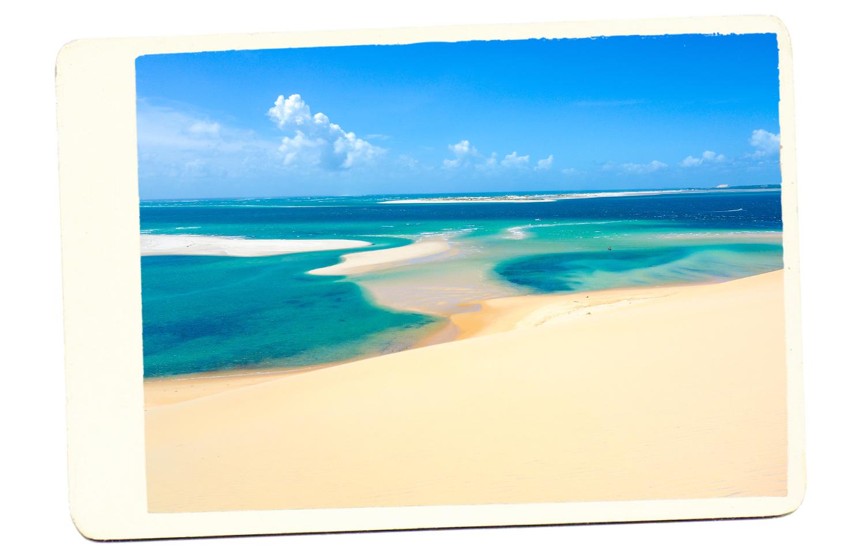 Mozambique Sand Beach