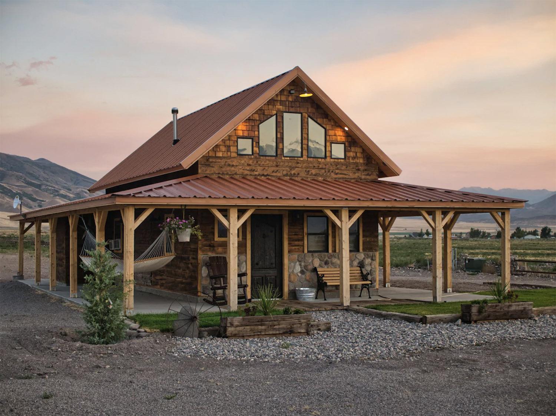 Cobblestone Ranch Cabin Utah Monroe Airbnb