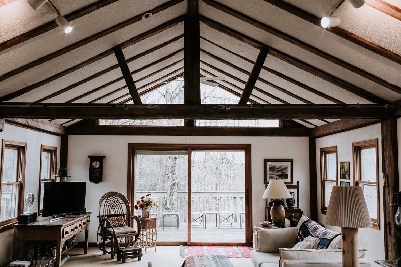 Rustic Berkshire Getaway Otis Massachusetts Airbnb