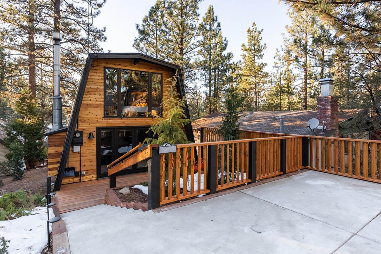 Mountain Cabin California Airbnb Pet Friendly Big Bear Lake