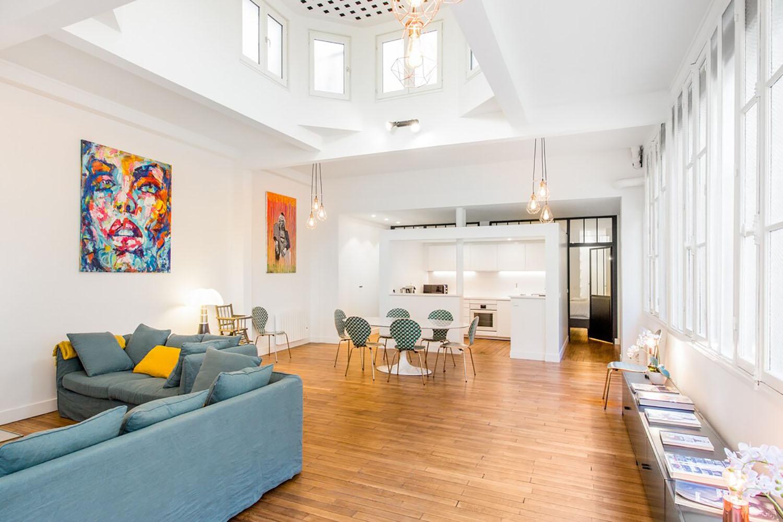Artist Loft Marais Paris Airbnb
