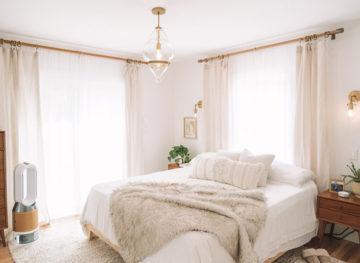 Boho Mid Century Modern Main Bedroom