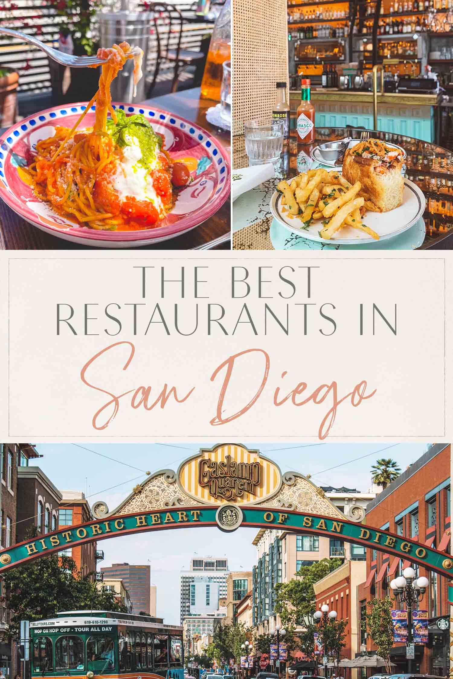 Best Restaurants in San Diego