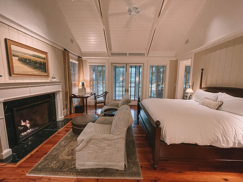 Montage Bluff South Carolina Cottage Room