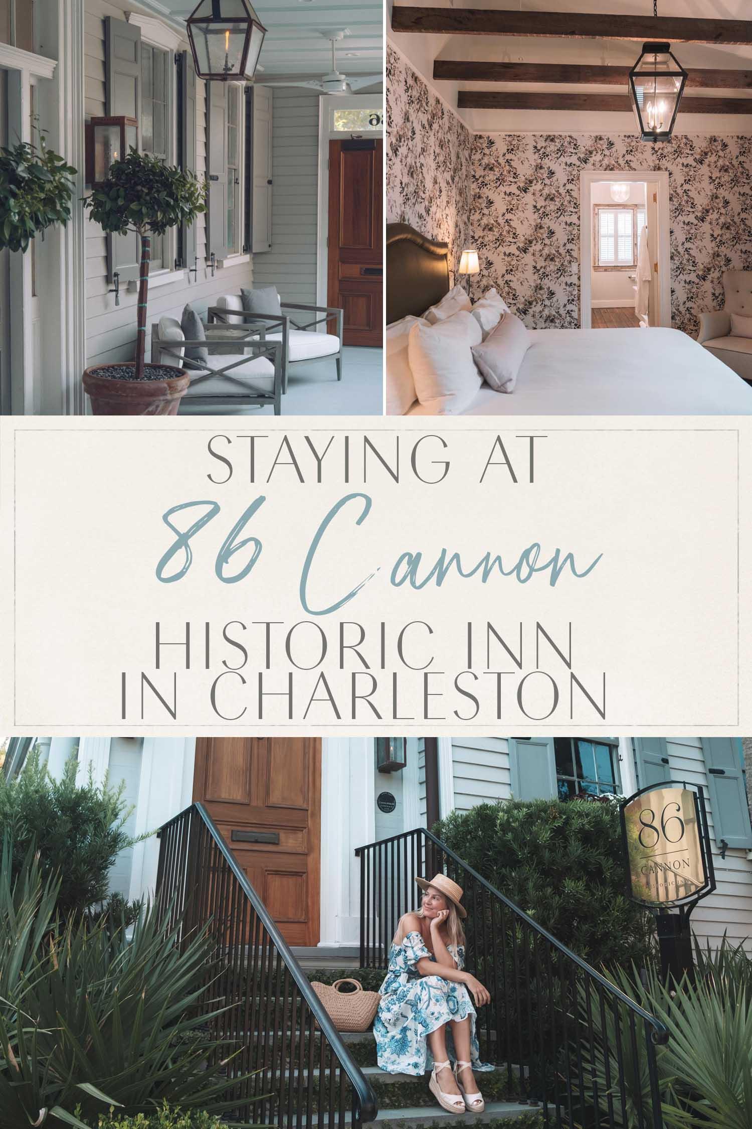 Staying at 86 Cannon Charleston