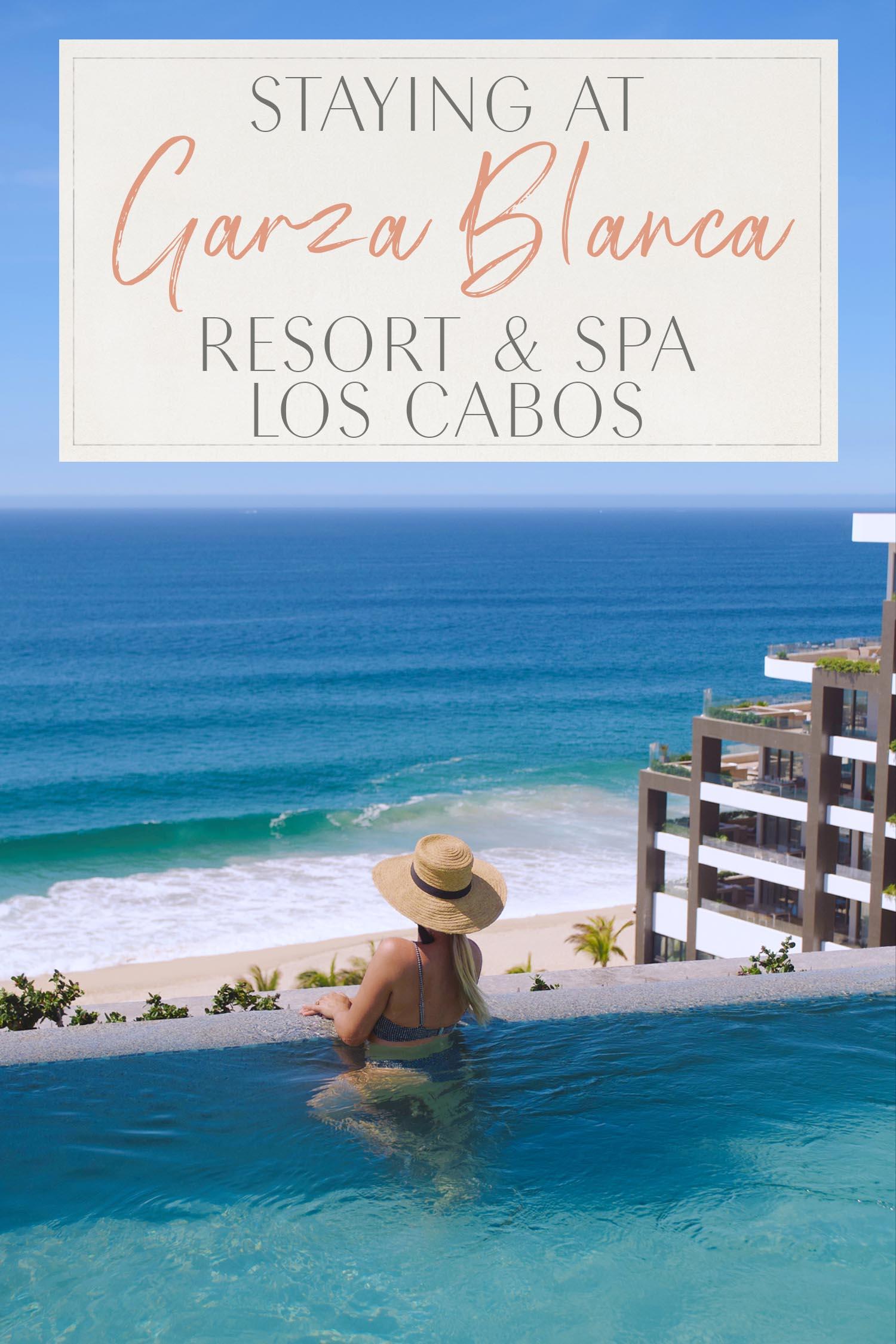 Staying at Garza Blanca Los Cabos