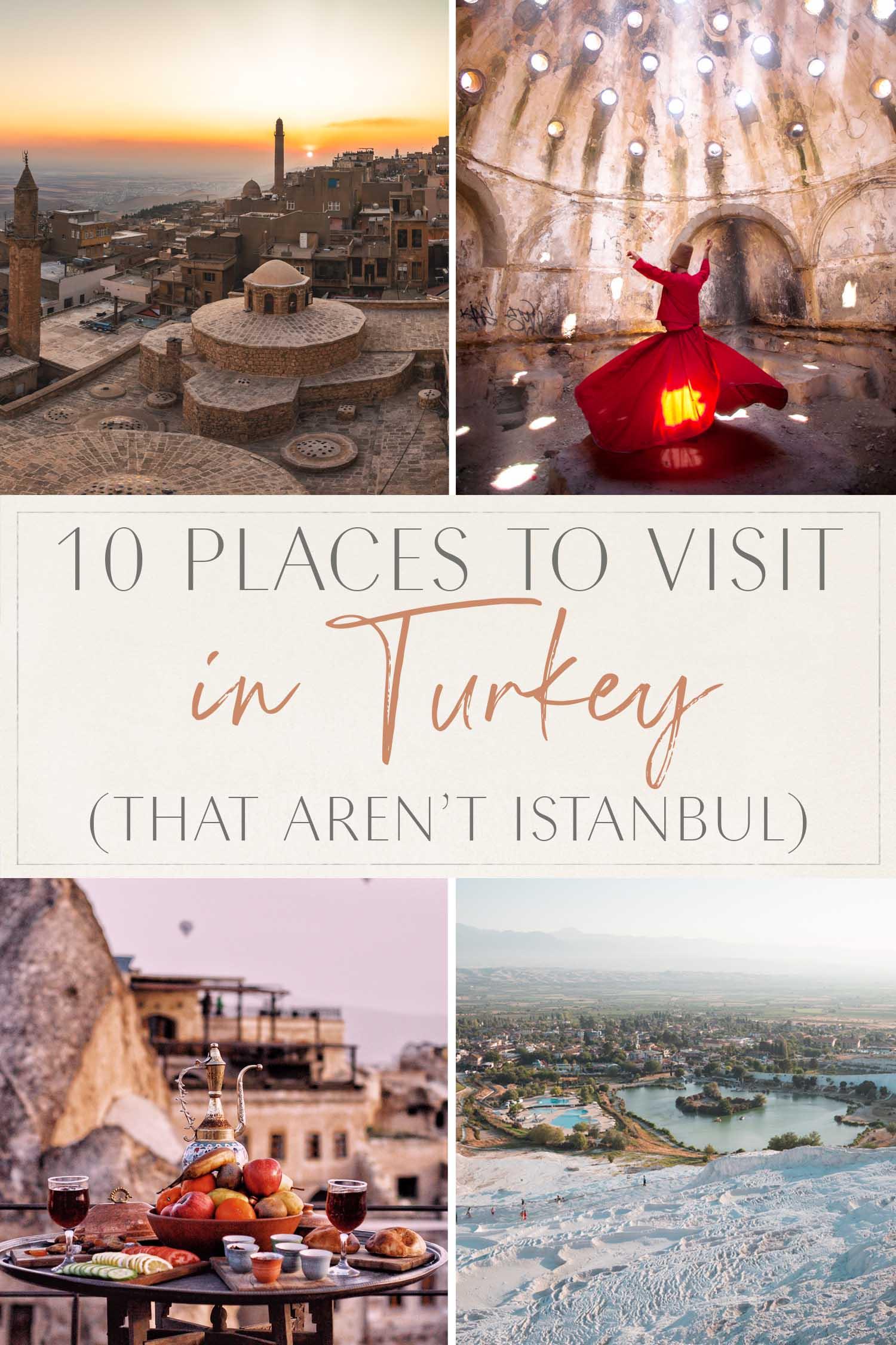 10 Places Turkey