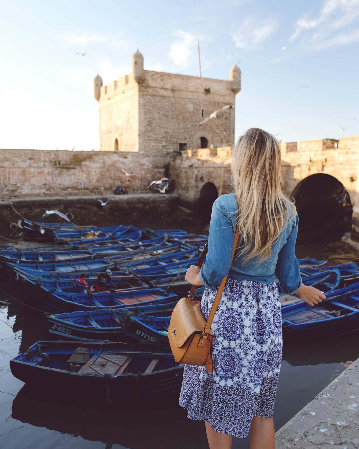 Essaouria Morocco Boats